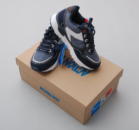 Кроссовки демисезонные для мальчика Aktion Boy обувь ССС Польша 31