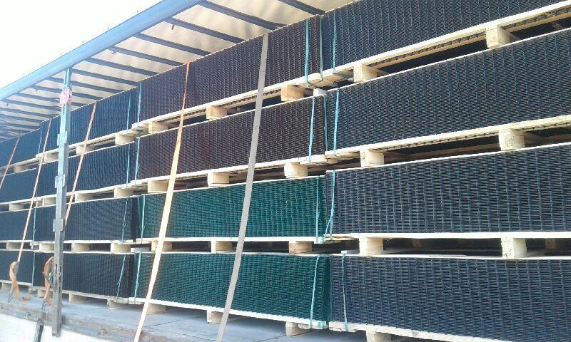 Panele/Panel/Słupek/Słupki ogrodzeniowy fi 5mm 1,23m ocynk + kolor