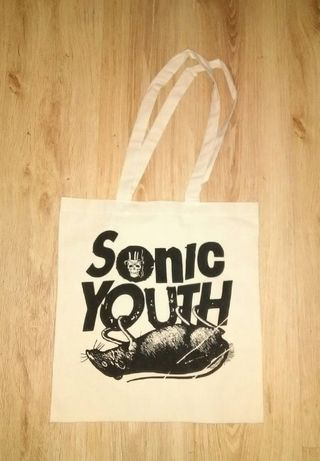 Sonic Youth - Tote Bag - Saco de Pano Cru.