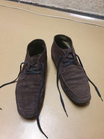 Чоботи/ботинки Vagabond, коричнева замша (44 р)