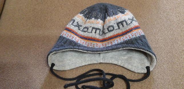 Зимняя шапка Maxima Германия ( шерсть , флис )( до 52)