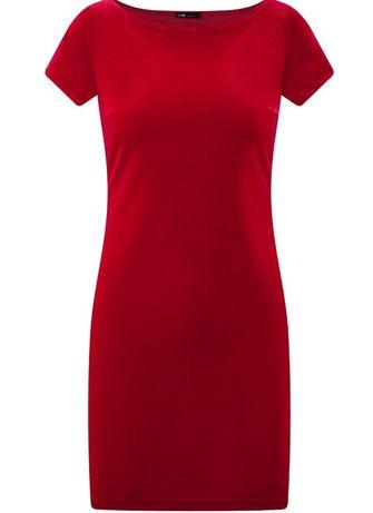 Платье Oodji Ultra бархатное