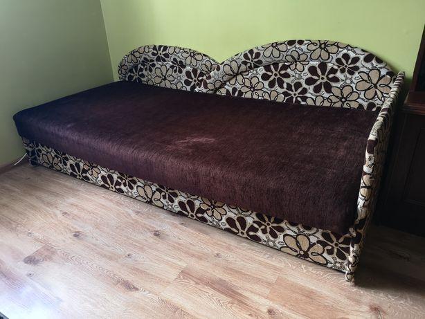 Łóżko kanapa 90x200cm okazja