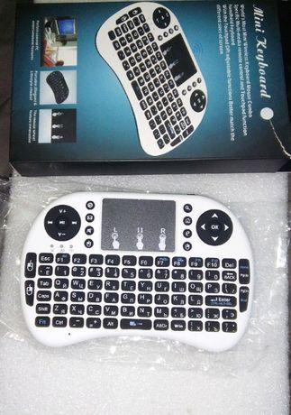 Клавиатура мини беспроводная с тачпадом