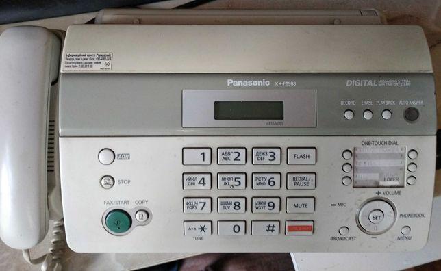 Продам факс Panasonic KX-FT988