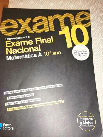 Matemática A 10 ano preparação para exame