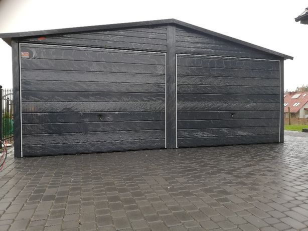 6x5 garaż blaszany kolor ral do wyboru