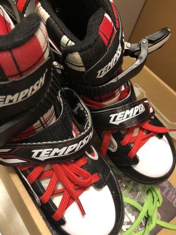 Łyżwy hokejowe Tempish rozm. regulowany 34-37
