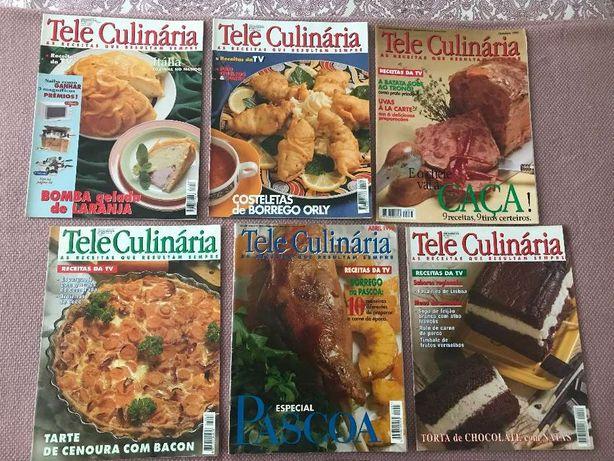 Revistas de Teleculinária