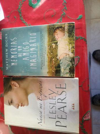 2 livros apaixonantes e emocionantes histórias