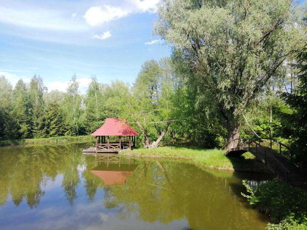 Продажа  участка 148 соток с озером в с. Здоровка. Без %