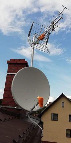 Anteny. Montaż, ustawianie, naprawy. Canal +, Cyfrowy Polsat, Orange
