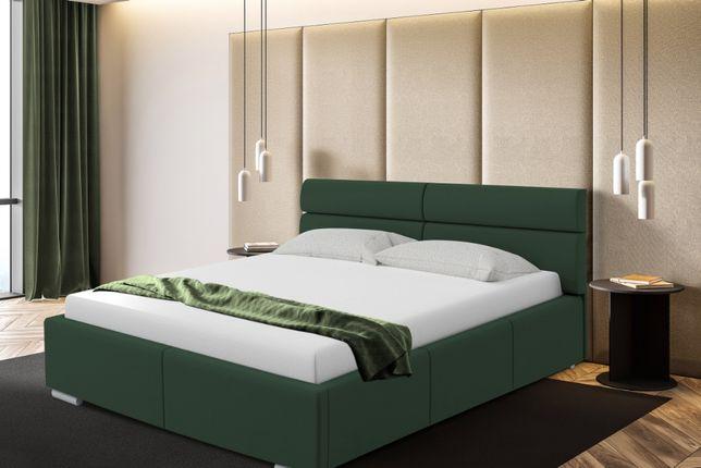 Łóżko sypialniane Monako 160x200, PROMOCJA stelaż+pojemnik gratis!