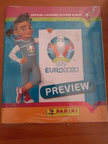 Caderneta UEFA EURO 2020 Preview atualizada 18/02/21