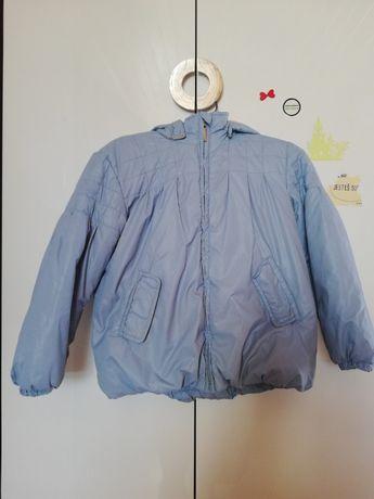 Zimowa kurtka blady niebieski ocieplana ENDO 118