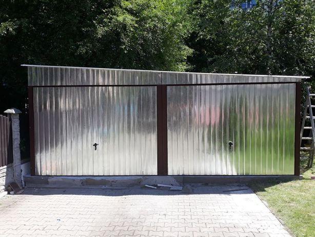 Garaze Blaszaki Blaszak Wiata Hala Garaz Budowa WZMOCNIONY 3x6 6x6 9x7