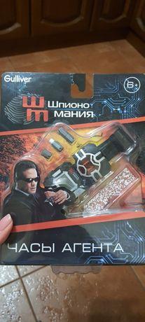 Шпионские часы. Часы супер агента, спец агента. Игрушка для мальчика.