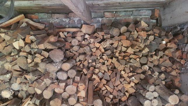 Drewno opałowe mieszane pocięte