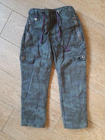 Камуфляжные штаны Chicco на трикотажной подкладке р.110