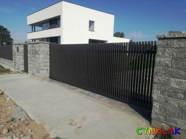 Nowoczesne ogrodzenia konstrukcje metalowe panele ogrodzeniowe słupki