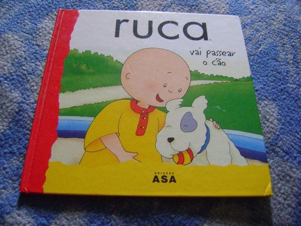 """Livro capa dura """"Ruca"""""""