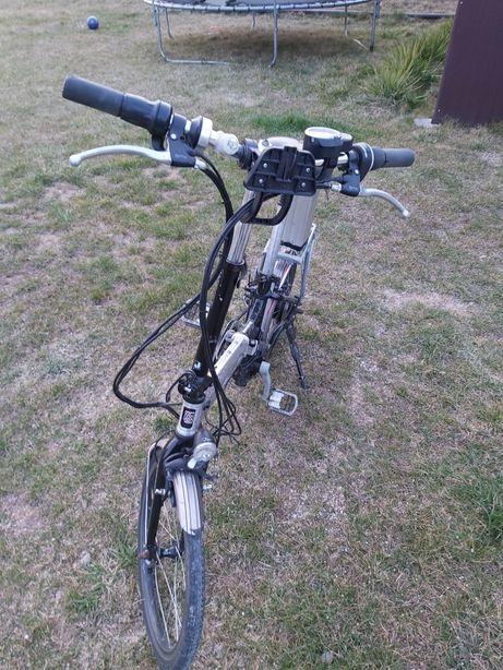 Rower monty ef-38 elektryczny składak