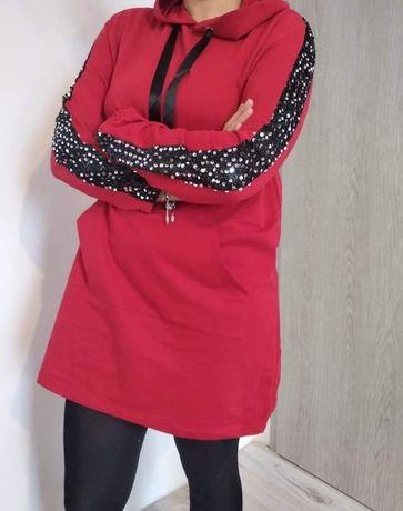 Tunika/sukienka czerwona