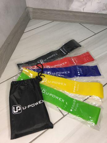 Фитнес резинки U-Powex. Резинка, лента для фитнеса
