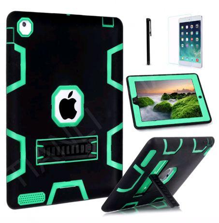 Capa iPad mini 1/2/3 , iPad 2/3/4 , iPad air 5/6,antishock em silicone