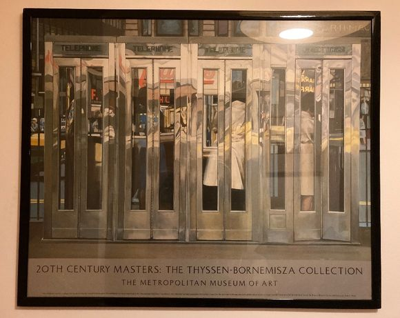 "Poster ""20th Century Masters: The Thyssen-Bornemisza Collection"""