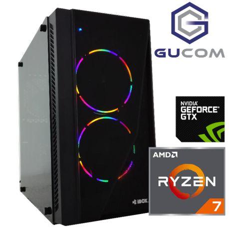 Komputer do GIER - RYZEN 7 GTX 1660 SUPER 16GB SSD