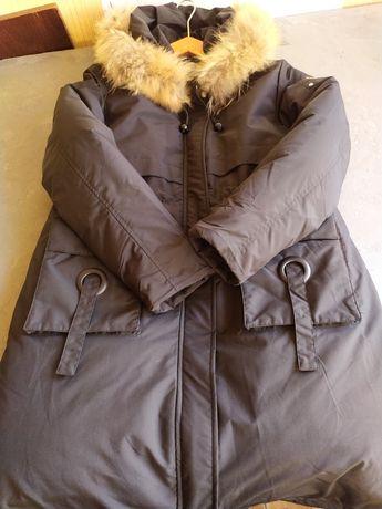 Теплая парка, пальто, куртка. Новая. 3500 руб