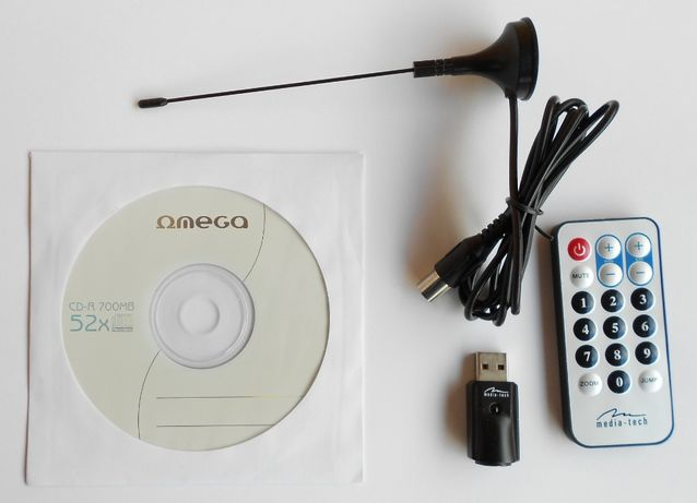 Tuner DVB-T USB do odbioru naziemnej