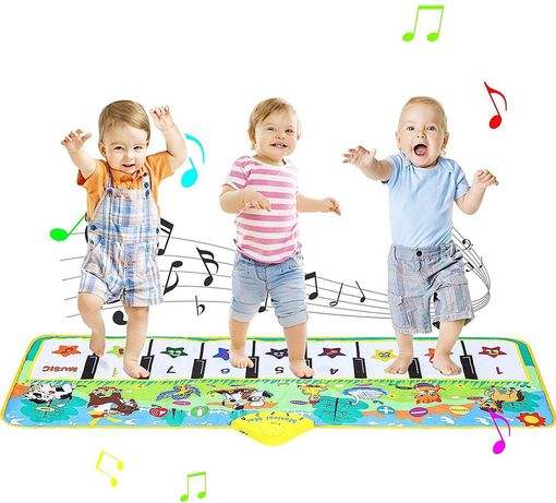 Tapete Musical Piano Brinquedo Interativo Didático Novo