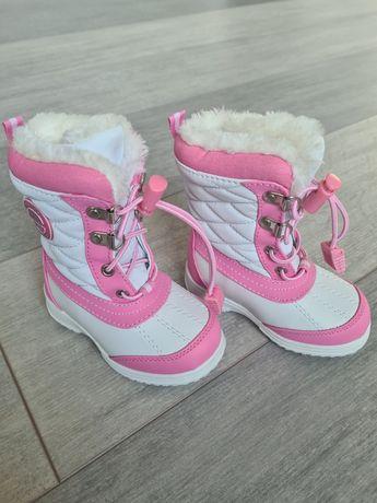 Totes Winter Survivor kozaczki buty zimowe dziewczęce 21 NOWE
