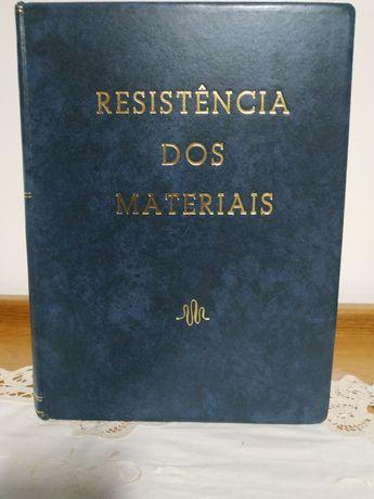 """Livro """"Resistência dos materiais"""""""