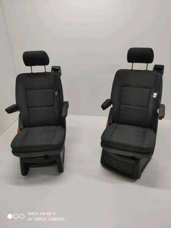 Fotele Obrotowe Obkręcane VW T5 T6 Multivan Lift Comfortline Cheyenne