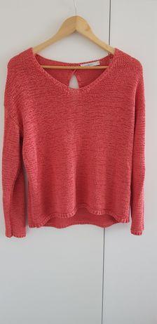 Koralowy sweter Taranko 42