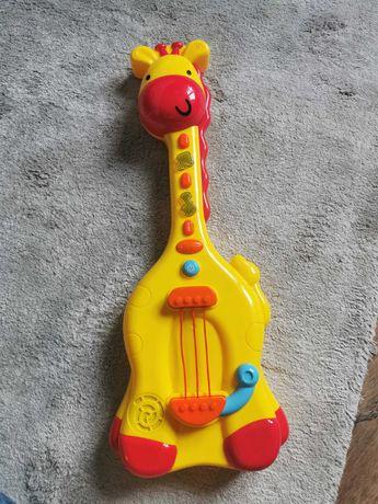 Grająca żyrafa, gitara dla dzieci