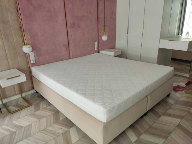 Łóżko kontynentalne 180 x 200 cm