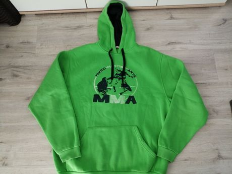 Bluza zielona męska XXL