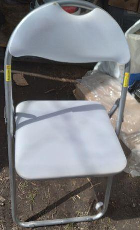 Składane krzesła ogrodowe,domowe 6 sztuk.