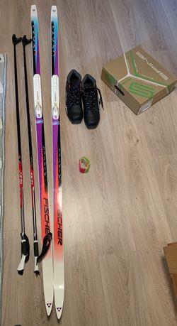 Zestaw narty biegowe na 190/95kg