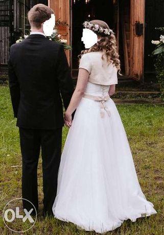 Suknia ślubna 36 + gratisy