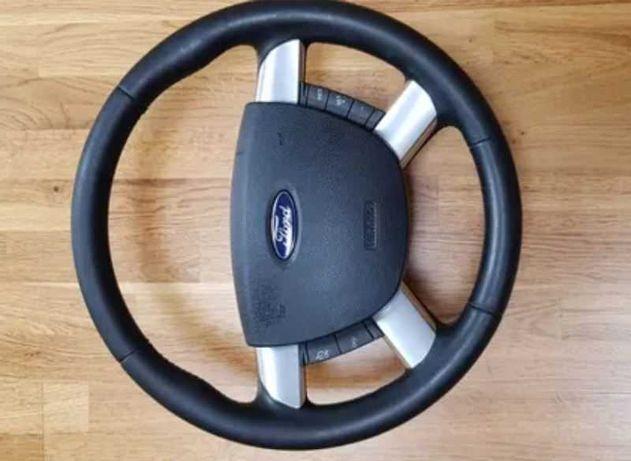 Kierownica Ford Kuga MK1, poduszka sterowanie