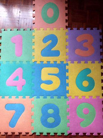 Tapete atividades puzzle