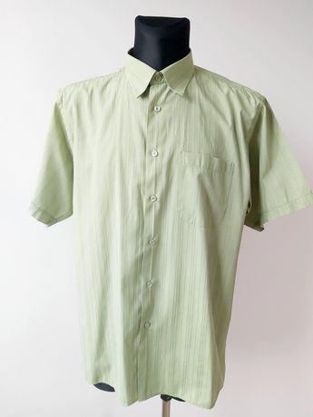 Męska koszula z krótkim rękawem Apparel zielona 44/45