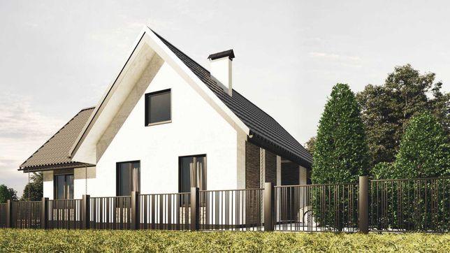 Чудовий будинок на етапі будівництва по хорошій ціні (с. Дмитрівка)