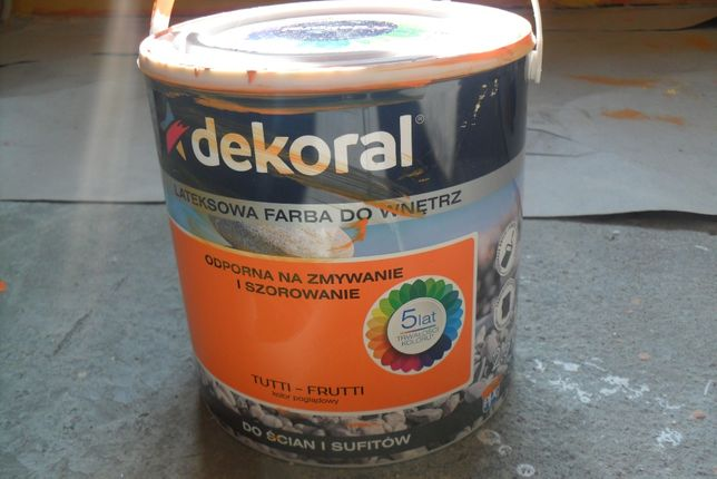 Farba akrylowa Dekoral - kolor Tutti- frutti za połowę ceny