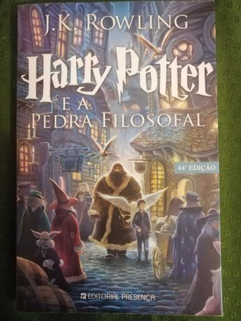Harry Potter e a Pedra Filosofal Nº.1
